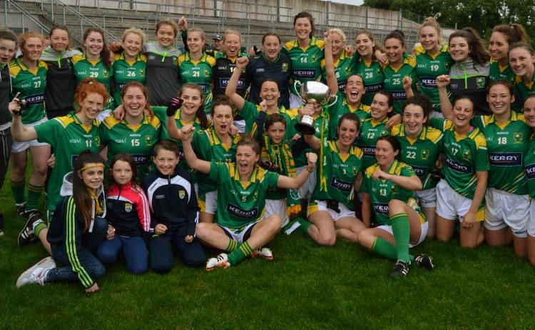 Kerry ladies Munster Champions