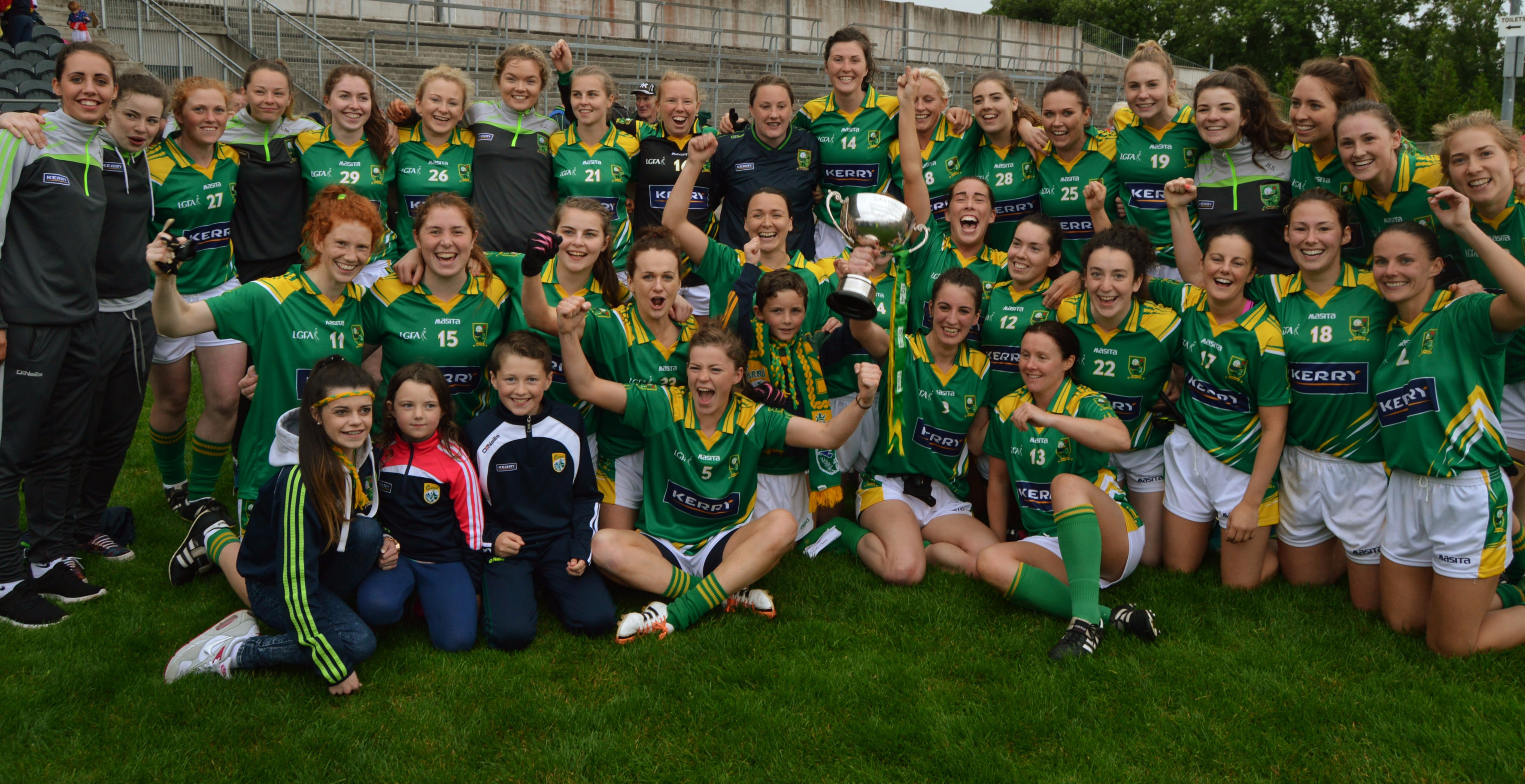 Kerry ladies Munster Champions
