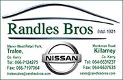 Randles Bros Nissan Tralee Killarney