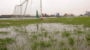 Storm Brian Puts Washout On Development And Munster Championship.