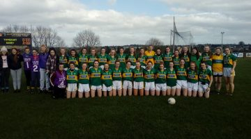Kerry U/16s Defeat Tipperary.