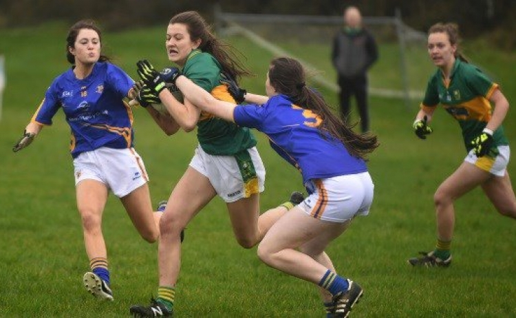 Kerry minor ladies v Tipperary 2018