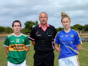 Sarah Houlihan captain v Tipp 14 July 18
