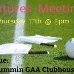 Fixtures Meeting