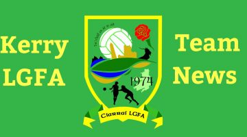 Kerry U16 Team named to face Cork