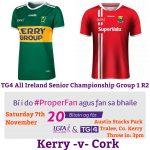 Kerry v Cork Team News