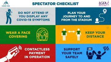 Information re Spectators in Croke Park